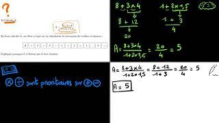 Correction maths brevet 2009 activités numérique exo 1