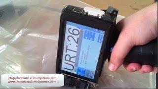 Inkjet Coding on Plastic Bags - Inkjet Coder Machine for Plastic Bottles