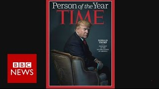 Time magazine's Person of the Year: Donald Trump & previous winners - BBC News