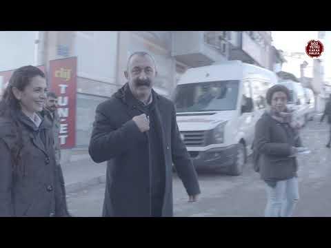 Dersim Belediye Başkan Adayı Fatih Maçoğlu ile DDHD nin 22 Ocak Aday Tanıtım Etkinliğine Doğru