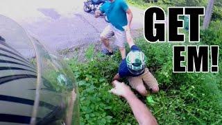 Fighting Bike Thief