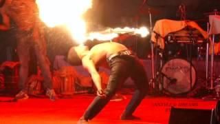 ഫയർ ഡാൻസ്  |  Fire Dance  | Amazing Fire Dance Performance | Live Stage Performance 2017