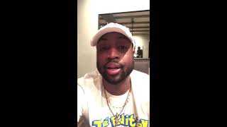 Dwyane Wade his reaction to the trade