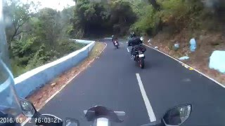 Valparai Hill Climb - Aliyar Dam 40 hairpins section