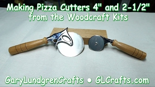 Making Pizza Cutters from Woodcraft  Ep.2017-20