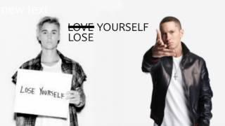 Love/Lose Yourself (Justin Bieber X Eminem) Mashup