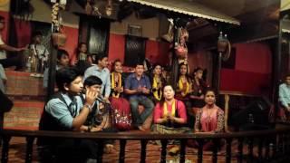 Live lok dohori pulyo bamari by Prakash saput, Mina Adhikari, Nita Pun Magar & Kalyan Rana