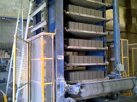 Makineri per blloqe dhe pllaka betoni prodhimi