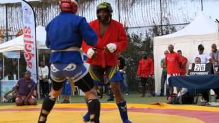 Sambo Combat - SINAMA Adolphe Vs NABET Ludo - 82kg