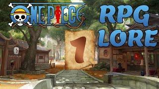 RPG de One Piece - Introdução do personagem - Episódio 1