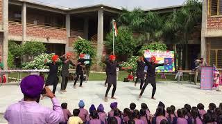 Bhangra on jatt mele aa gya by the students of satya bharti school fattubhilla