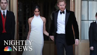 Prince Harry And Meghan Markle Celebrate With Private Reception After Wedding | NBC Nightly News
