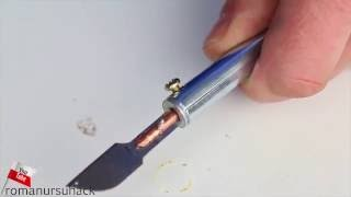 How to make a diy HOT KNIFE / TUTORIAL