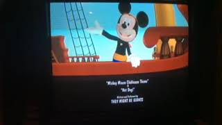 Mickey Mouse clubhouse pirate adventure credits