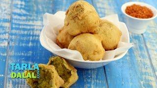 Batata Vada , Aloo Vada Recipe by Tarla Dalal