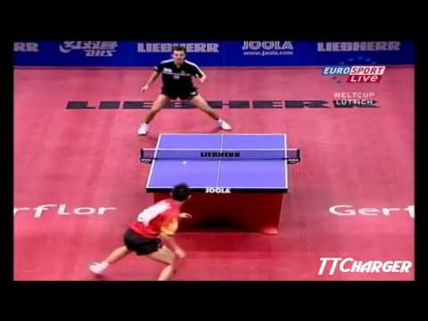 World Cup 2005: Wang Hao vs. Timo Boll