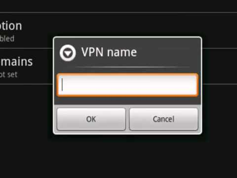 How to setup VPN on Android - PPTP