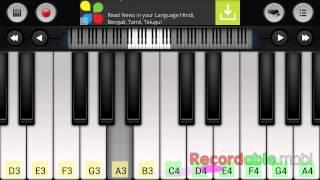 Piano tutorials : amma amma, vip