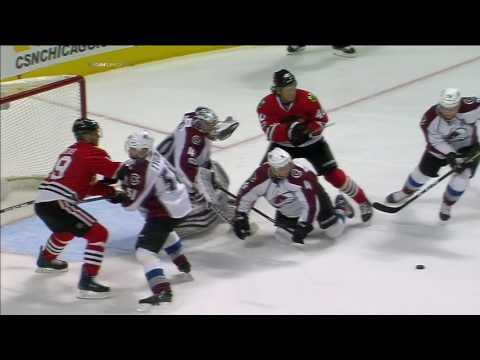 Gotta See It Enthusiastic call as Blackhawks score 3 goals in 34 seconds