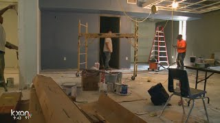 Crews at Reagan High rushing to get new tech space ready