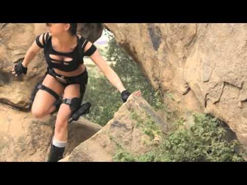 NOW SHOWING Tomb Raider XXX!