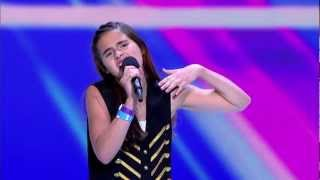 Carly Rose Sonenclar - Audition  THE X FACTOR USA 2012.