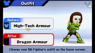 Super Smash Bros. (3DS) - All Mii Custom Outfits (Male and Female)