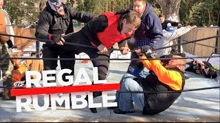 CRAZIEST 30 MAN ROYAL RUMBLE EVER FOR YOUTUBE WRESTLING CHAMPIONSHIP!