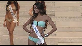 Vanessa Pulgarin en el Miss International 2017
