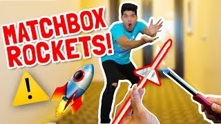 WARNING: Do Not Catch MATCHBOX ROCKETS!!!