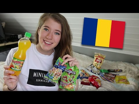 ROMANIAN CANDY TASTE TEST