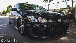 Volkswagen GTI (Mk7) with Air Lift Performance (Charlotte, NC)