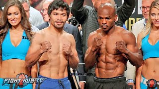 Manny Pacquiao vs.Tim Bradley 3 COMPLETE Weigh In & Face Off Video