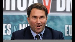 Eddie Hearn REACTS To HBO Boxing leaving Boxing Business after 45 years