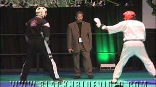 Ross Levine vs Jamie Cravens at 2012 Gator Nationals Karate Tournament