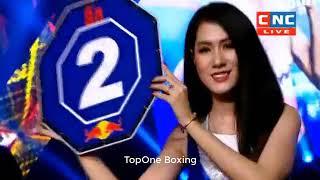 ឃីម បូរ៉ា ប៉ះ  ចៅប៊យ ,Khim Bora (Cam) Vs Chaoboy (Thai), Khmer Boxing 2019
