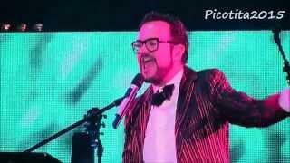 ALEKS SYNTEK Y CRISTIAN CASTRO - Auditorio Nacional México - Popurrí Cuatro - 5/nov/2015