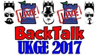Live BackTalk: UK Gaming Expo!