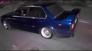 تخميسات BMW في زفة العريس أحمد سامي الجعفري - مخيم الدهيشة