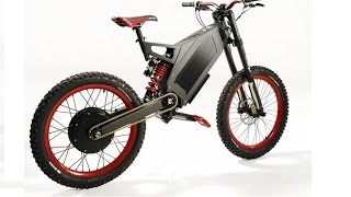 Stealth Bomber Electric Bike and Adaptto - 120km/h