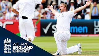 Flintoff Takes 5 Wickets On His Farewell To Lord