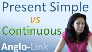 Present Simple vs Present Continuous - Learn English Tenses (Lesson 1)