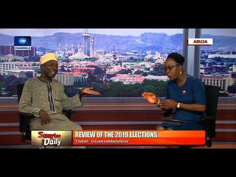Pres l Election Galadima Slams Militarisation Of Process Insists PDP Was Robbed Pt.1