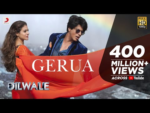 Gerua - Shah Rukh Khan | Kajol | Dilwale | Pritam | SRK Kajol Official New Song Video 2015