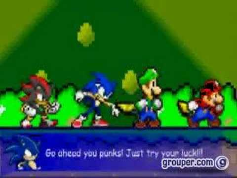 Mario Sonic Luigi Shadow VS The Koopa Brothers