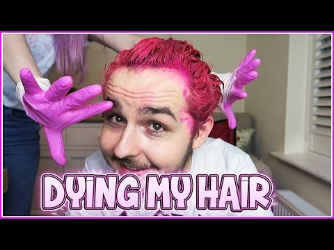 DYING MY HAIR PINK!