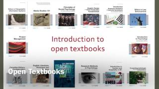 Introduction to Open Textbooks