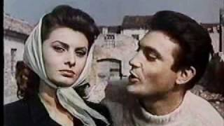 Sophia Loren Italian movie scene on love