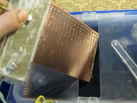 Как сделать металлизацию отверстий в печатных платах проще