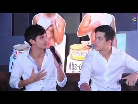 Achieve na achieve ni James Reid ang 6 pack abs! [MUST-SEE]